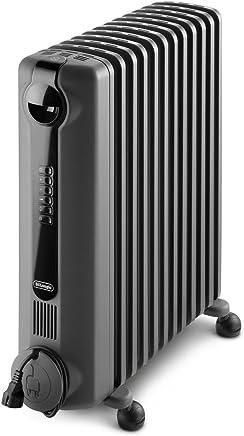 DeLonghi Radia S Digital, Portable Oil Column Heater, 2400W, TRRS1224EG, Grey