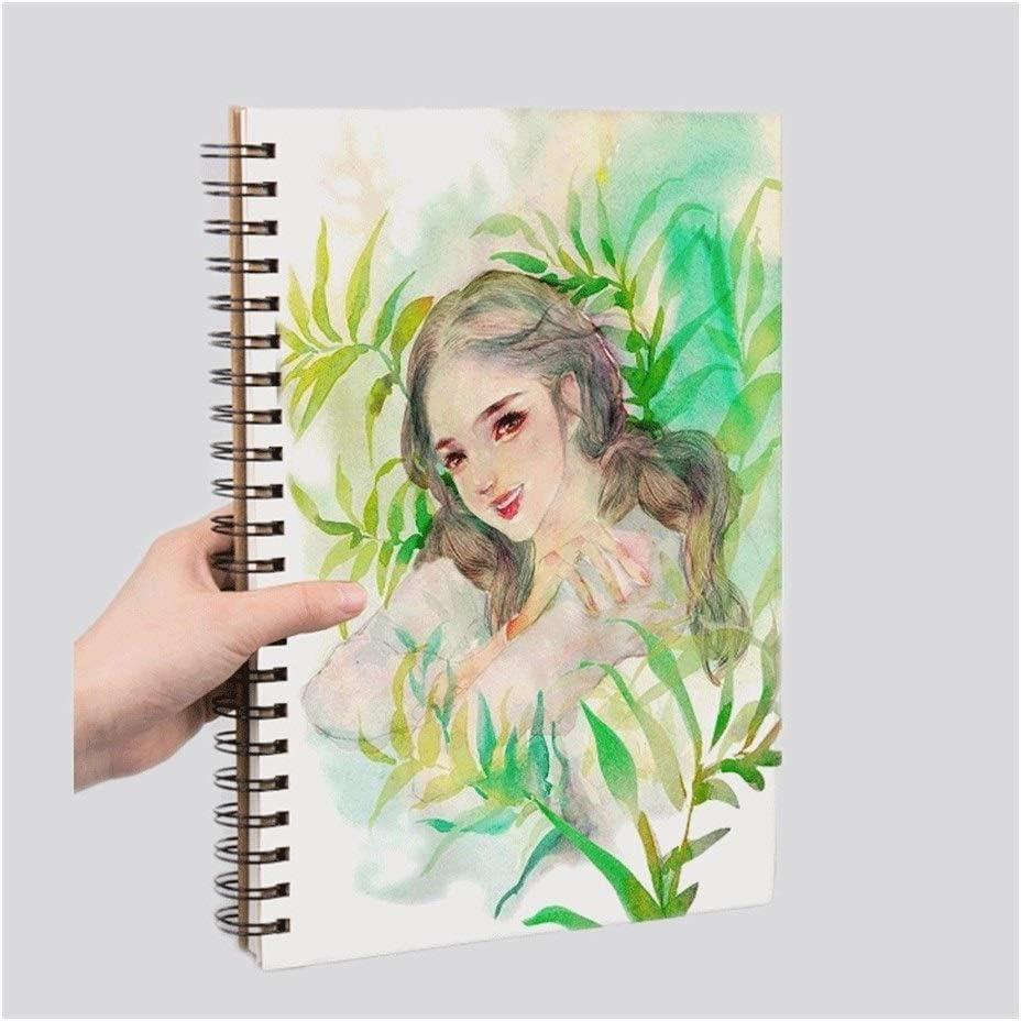 YHYH Notebook Sketch Super Trust popular specialty store Book-Spiral S 2-Pack Blank Journal