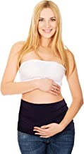 Maternity Fit, Bamboo Belly Band with Waist Extenders for All Stages of Pregnancy, 3-4 items