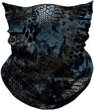 AXBXCX 2 Pack - Elastic Seamless Moisture Wicking Neck Gaiter Headband Bandana Face Mask for Outdoor Sport