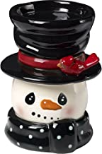 Snow Much Fun by Precious Moments Snowman Holiday Décor Ceramic Candle Holder 171477