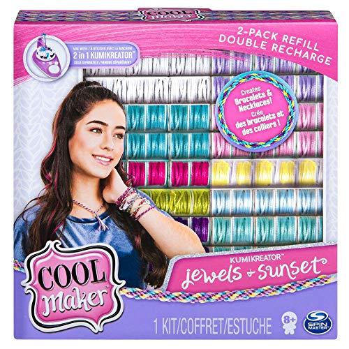 Cool Maker 6054773 - KumiKreator Fashion Nachfüll Set Sunset und Jewels