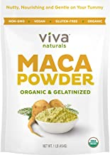 Organic Maca Powder - 16 Ounces (1 LB) - Gelatinized Maca Root Powder for Enhanced Absorption & Digestion, Certified Organic Gluten-Free & Non-GMO