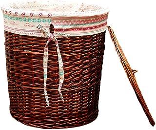 Boîte de rangement Xuan - Worth Having Vêtement Panier en Osier Panier de Rangement en Osier tissée for boîte de Bain 3 Co...