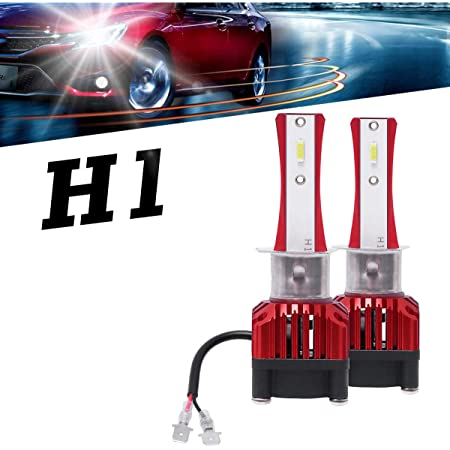 H1 2 Pairs White Xenon Halogen Headlight #Pt1 Bulb High//Low Beam For Motorcycle