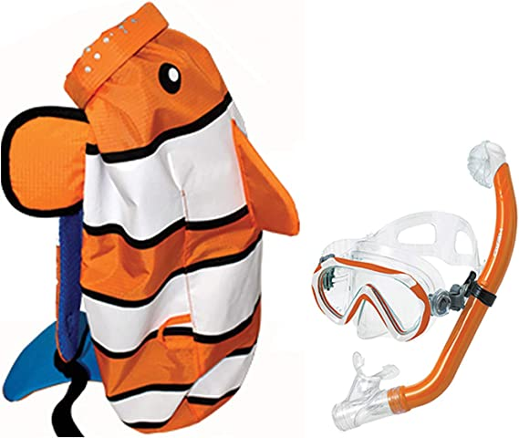 """Doll Scuba Diving Clothes Equipment Balloons Snorkeling Mask For 11.5/"""" Dolls 1//6"""