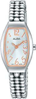 Alba Watch for Women - Analog Stainless Steel Band - AH8249X