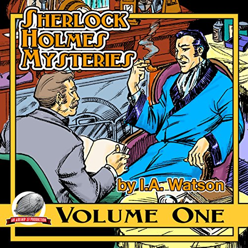 Sherlock Holmes Mysteries, Volume 1 audiobook cover art