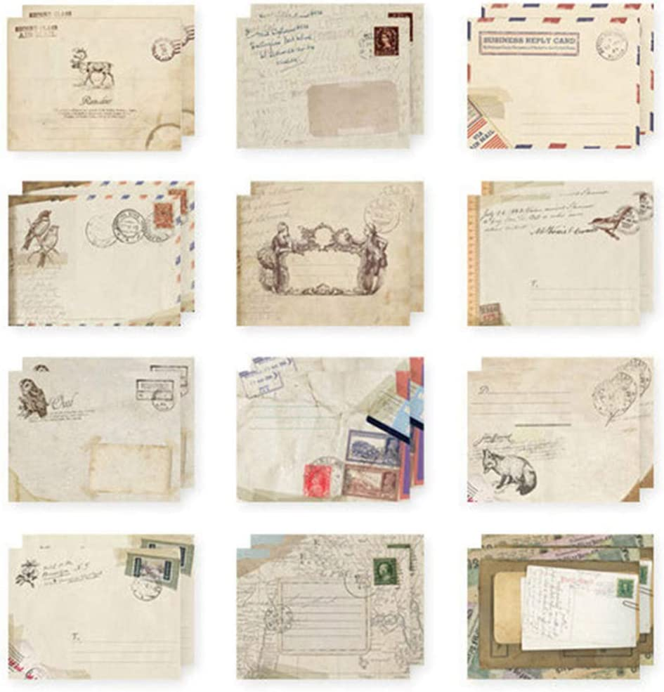 EORTA 60 Pieces Mini Paper Envelop Small Envelopes Retro Inexpensive Mailers Popular brand in the world
