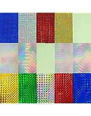 Señuelo de la Pesca Etiqueta de Escalas de Pescado Tipo Holográfico Adhesivo Tackle Pesca Atado de Moscas Señuelos Artesanía DIY