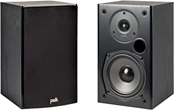 Polk Audio T15 100 Watt Home Theater Bookshelf Speakers (Pair) – Premium Sound at a..
