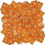 ON) préservatifs - Stimulation - préservatifs en pointillés pour une sensation accrue dans votre vie amoureuse - 100 préservatifs (1x100)