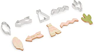 Fox Run 3695 Southwest Cookie Cutters, Set of 5, Stainless Steel