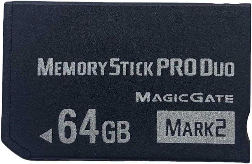 LILIWELL Original MS 64GB Memory Stick Pro Duo MARK2 64gb for PSP 2000 3000 Memory Card