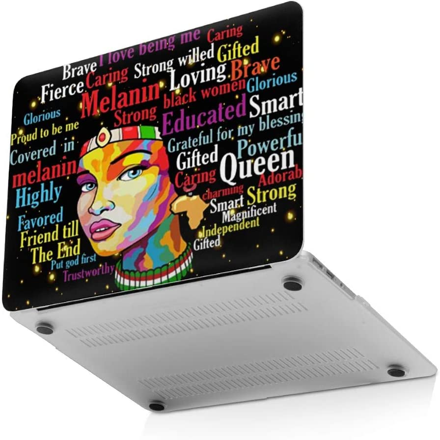 New Air13 // Air13 // Pro13 // Pro15 Laptop Case for MacBook African American Black Pride Afro Women Laptop Computer Hard Shell Cases Cover