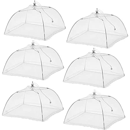 1 Mesh Food Cover Round Umbrella Picnic BBQ Party Folding Pop Up Outdoors
