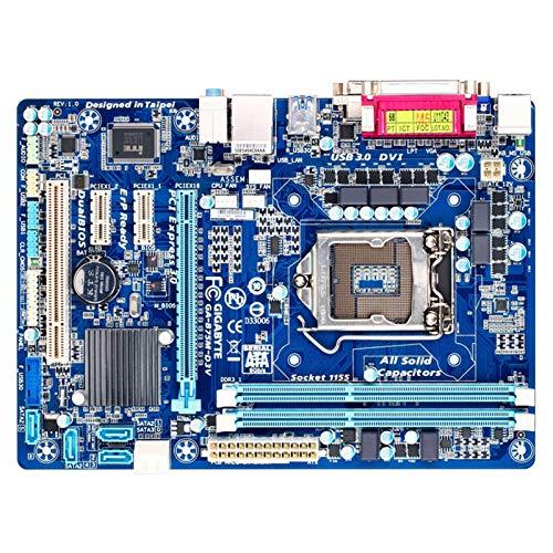 YANGLY Placa base para GIGABYTE GA-B75M-D3V Desktop Motherboard B75 Socket LGA 1155 I3 I5 I7 DDR3 32G Micro ATX placa base base reemplazo del teléfono celular