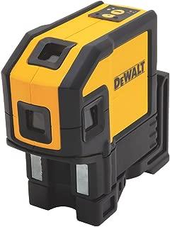DEWALT DW0851 Self-Leveling Spot Beams & Line Laser Level