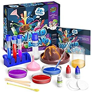 Science Kit for Kids - 21 Experiments Science Set, Great Gifts for 6, 7, 8 , 9+ Year Old Girls and Boys