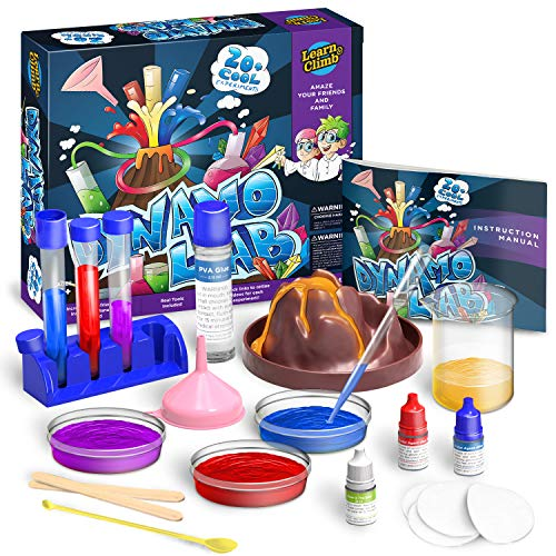 Product Image of the Learn & Climb Science Kit for Kids - 21 Experiments Science Set, Hours of Fun.