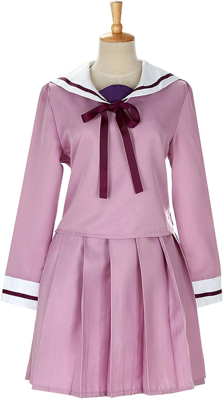 Noragami Hiyori Iki Oklahoma City Mall Light Purple Mail order Sailor Cosplay Uniform School C