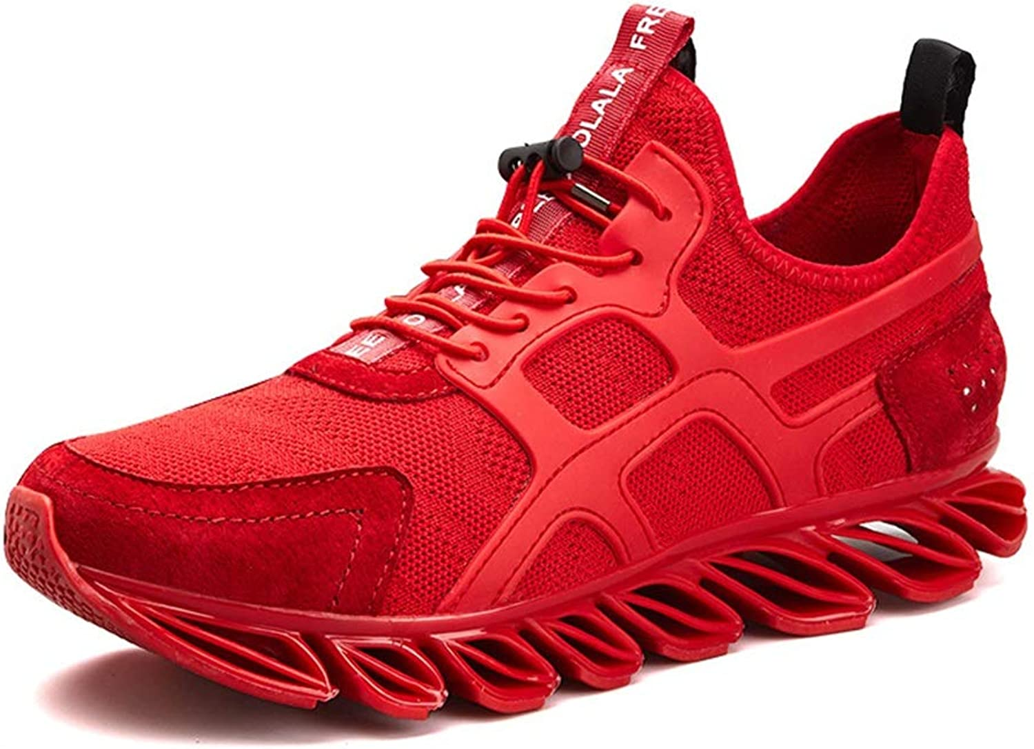 Men's shoes, Spring Fall Sports shoes Comfort Warrior Shock Absorber Breathable Running shoes Personality Lace-up Athletic shoes Walking shoes