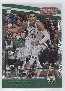 Jayson Tatum #/199 (Basketball Card) 2017-18 Panini Threads - [Base] - Dazzle #78