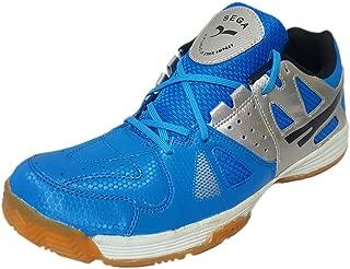 SEGA Universal Badminton Volleyball Shoes for Men (Blue)