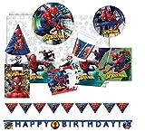 Procos 10118257 - Partyset Spiderman Team Up