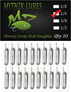 Eupheng 10 PCS//Pack Tungsten Tear Drop Sinker 1//8 oz 3//16 oz Black Color
