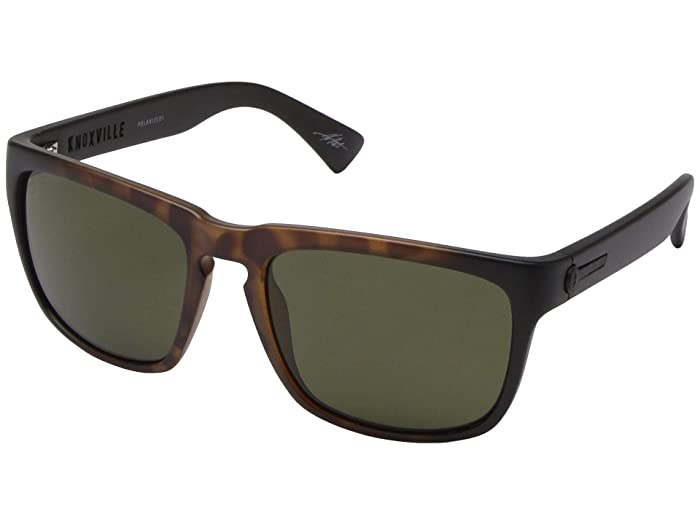 Electric Eyewear Knoxville Polarized (Tort Burst/Ohm Polarized Grey) Sport Sunglasses