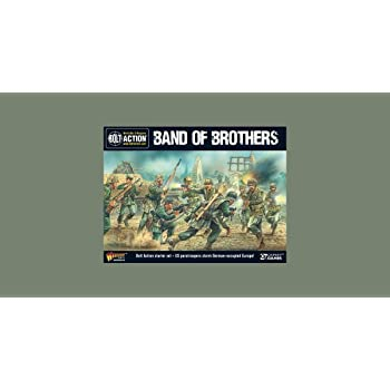Bolt Action Band of Brothers WWII Wargames Starter Set Warlord Games 401510001