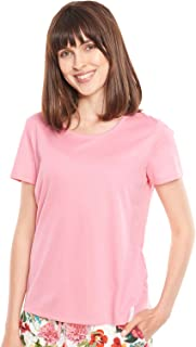 Rösch Be Happy! 1212011-10012 Women's Pink Cotton Pyjama Top