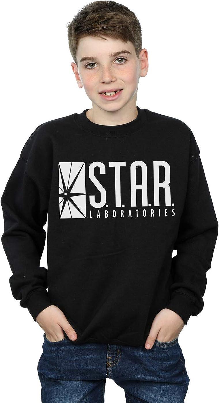 Selling Noisy Sauce Popular shop is the lowest price challenge Flash TV Boy's Sweatshirt Laboratories Star