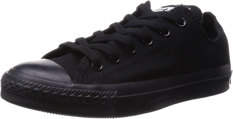 Converse Unisex Chuck Taylor Classic colors Sneaker (Men 8 Women 10, Black Monochrome)