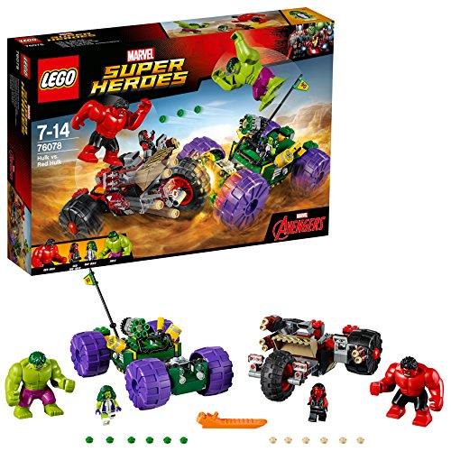 LEGO Super Heroes - Hulk vs Hulk Rojo (76078)