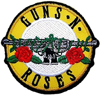 Guns n Roses Rock Band Logo t Shirts MG17 Embroidered Iron on Patches