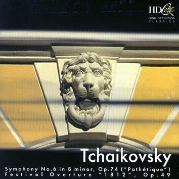 """Tchaikovsky: Symphony No. 6 """"Pathetique,"""" Festival Overture """"1812"""""""