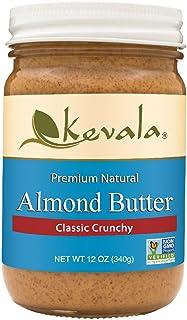 Kevala Almond Butter Crunchy, 12 Ounce