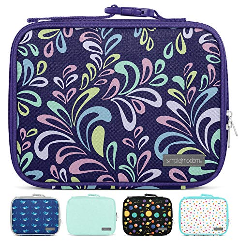 Simple Modern 3L Hadley Lunch Bag for Kids - Insulated Women's & Men's Lunch Box Pattern: Floral Swirl