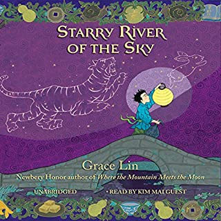 Starry River of the Sky audiobook cover art
