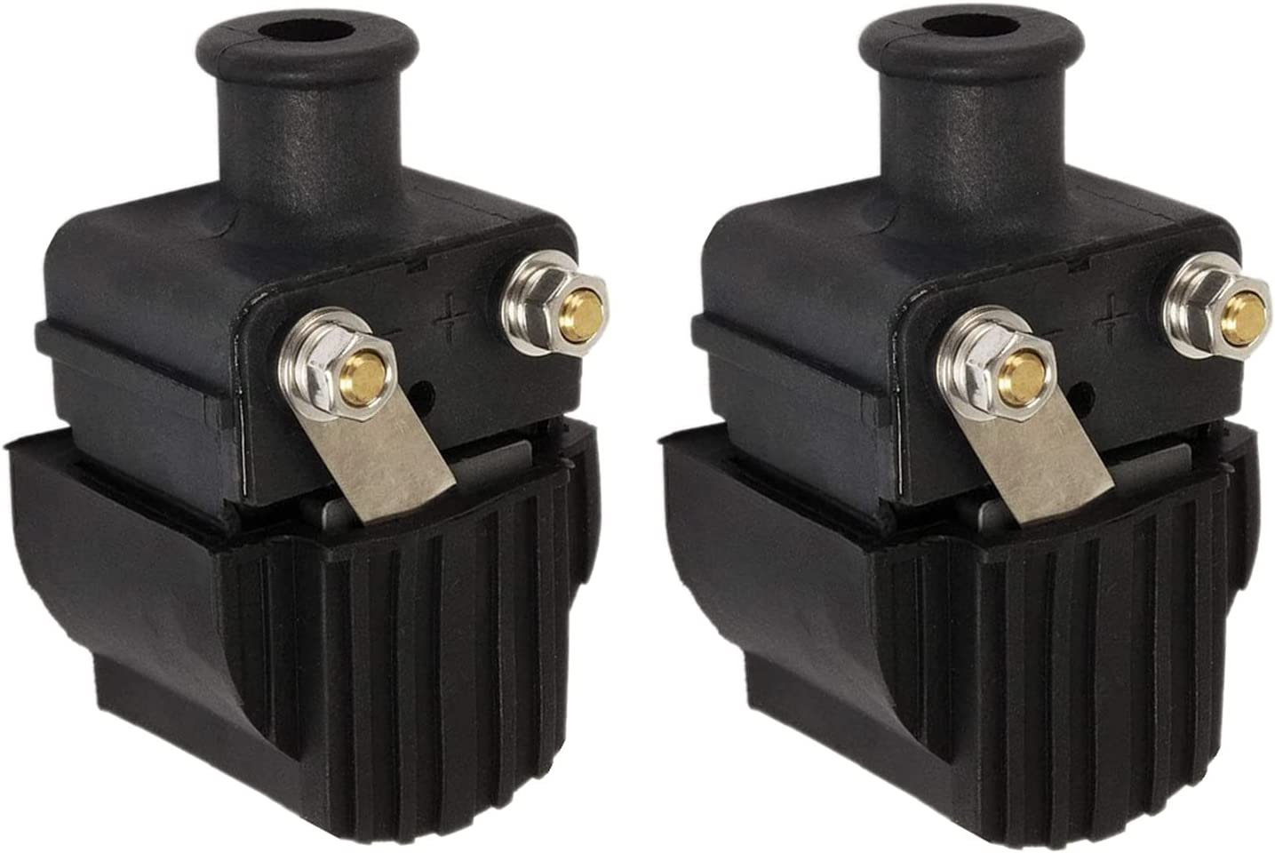 In stock WonVon 2-Pack Spark Ignition Coil Compatible gift Mercury with Marine