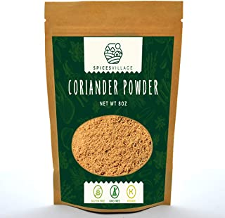 Ground Coriander Powder, Fresh Dried Grounded Coriander Seeds, Natural Roasted Coriander Spice for Seasoning and Cooking, ...