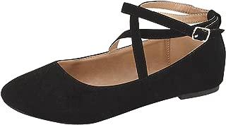 Women's Brea-3 Strappy Ballet Flat