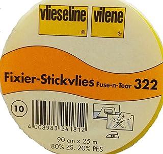 Fixier-Stickvlies 90 cm von Freudenberg weiß