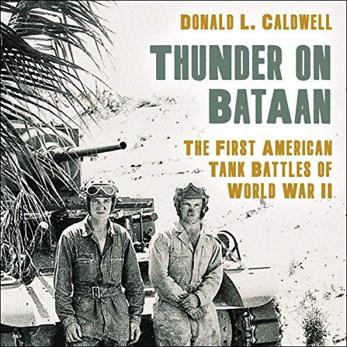 Thunder on Bataan audiobook cover art