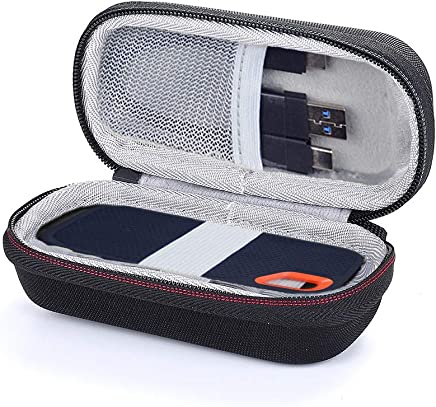 Masiken Sandisk SSD Case – Custodia rigida EVA per SanDisk 500GB/250GB/1TB / 2TB Extreme Portable SSD custodia protettiva Nero Cruz V2 Fresh Foam - Confronta prezzi