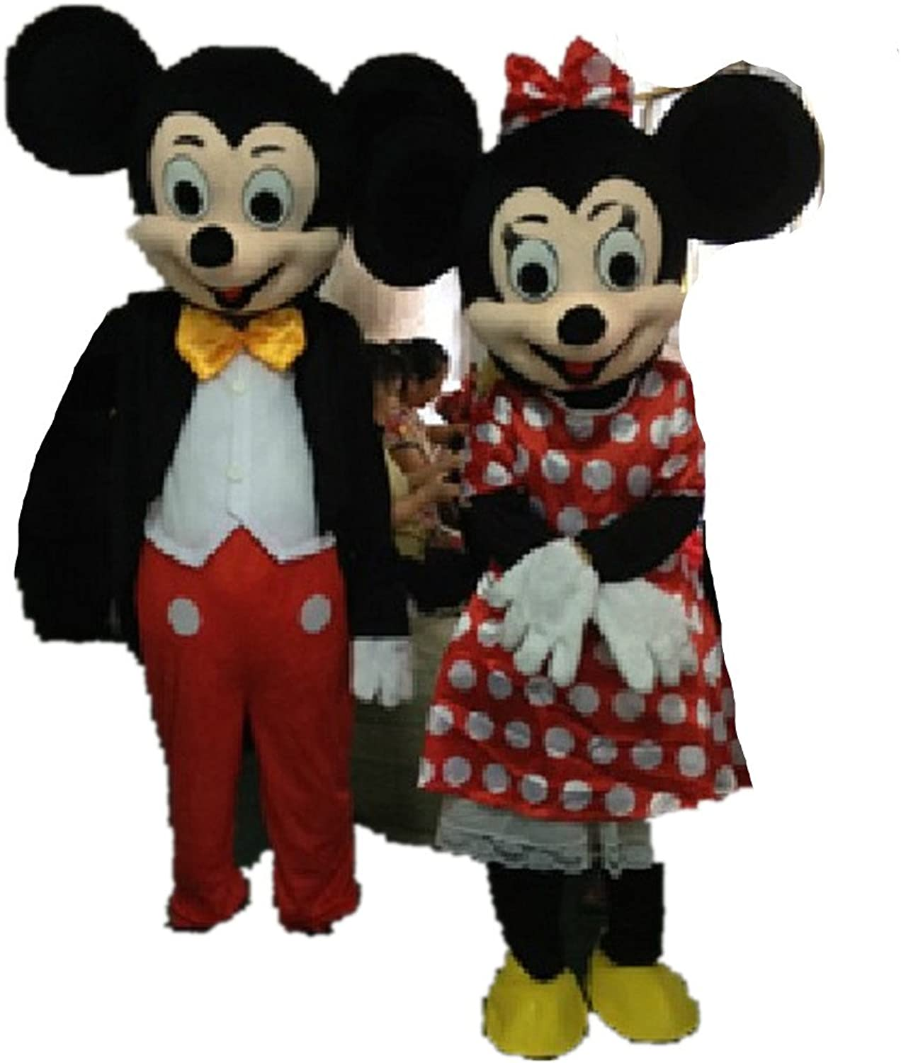 Cartoon mascot cosplay costume Mickey and Minnie cosplay costume price for one only