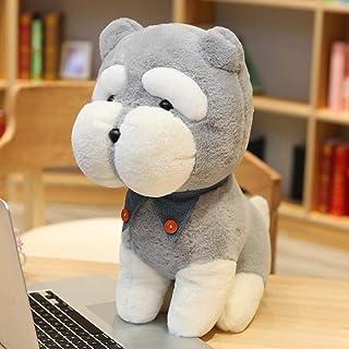 XGXSDPZ 1 قطعة كلب كاواي شناوتزر لعبة قطيفة صغيرة لينة لمحاكاة الأطفال ألعاب الحيوانات المحشوة الأطفال صور لطيفة هدية عيد ...