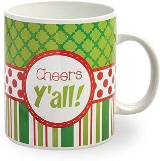 Cheers Y'all Oversized Mug